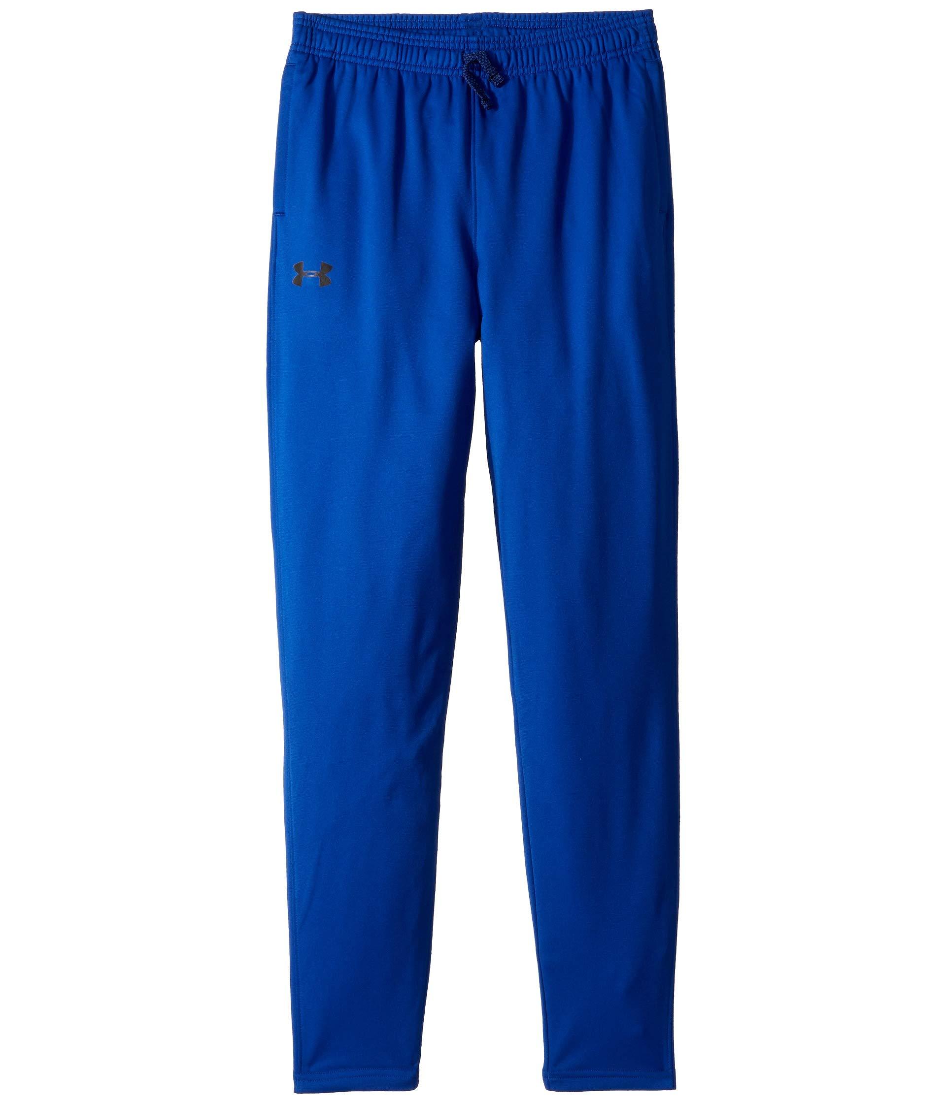 Under Armour Kids Boy's Brawler Tapered Pants (Big Kids) Royal/Black X-Small