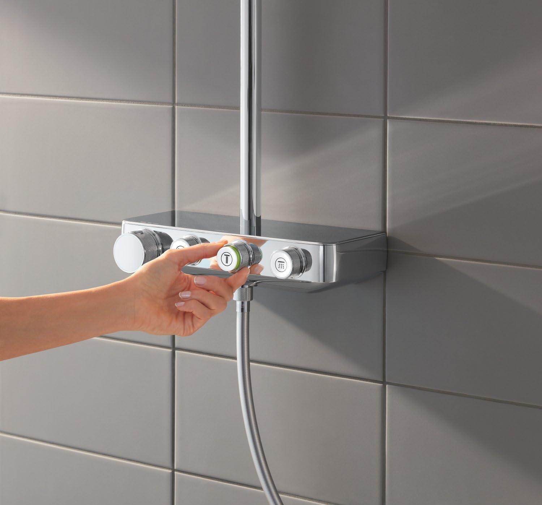 Grohe Euphoria Smartcontrol 310 - Conjunto de ducha con termostato ...