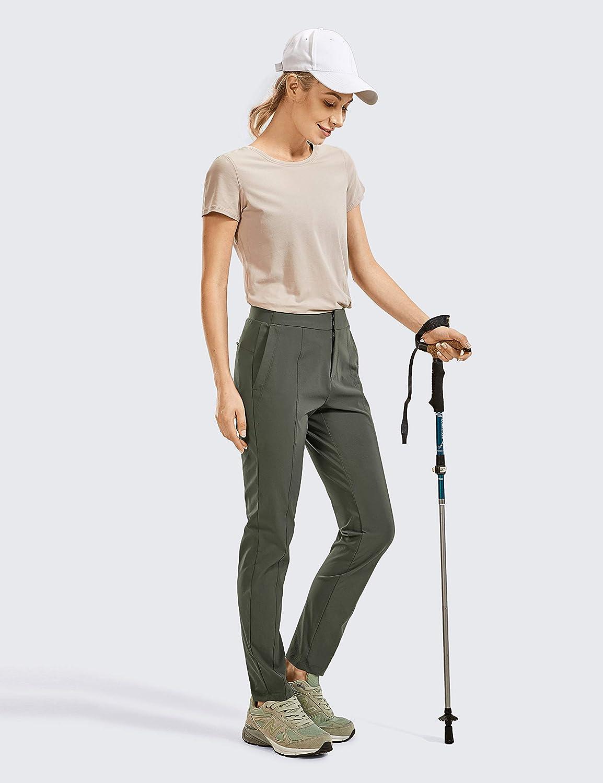 CRZ YOGA Pantalon de Randonn/ée Zipp/é pour Femme Pantalon D/écontract/é