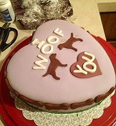 Using Wilton Heart  Piece Cake Pan