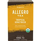 Allegro Tea, Organic Tropical Honeybush Tea Bags, 20 ct