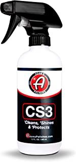 product image for Adam's CS3 Clean, Shine, Protect | Ultimate Top Coat Waterless Wash & Wax Ceramic Spray Coating | All-in-One Cleaner, Polish, Hydrophobic Polymer Paint Sealant Protection (12oz) (12oz)