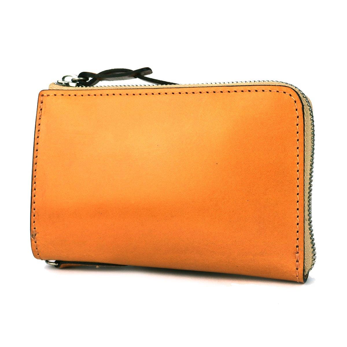 [コルボ]CORBO face Bridle Leather 二つ折り財布 L字ファスナー 1LD-0225 B0081ZA1TQ ブラウン(91) ブラウン(91)