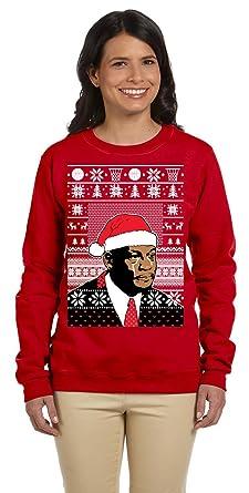 Ugly Christmas Sweater Meme.12 99 Prime Tees Women S Jordan Crying Meme Ugly Christmas