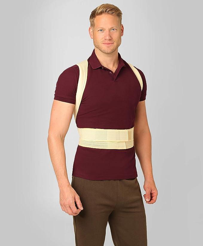 ®BeFit24 Corrector De Postura - Solución Instantánea Para La Postura Encorvada Frente Al Ordenador - Cinturón Para El Alivio Del Dolor De Espalda - El Mejor ...