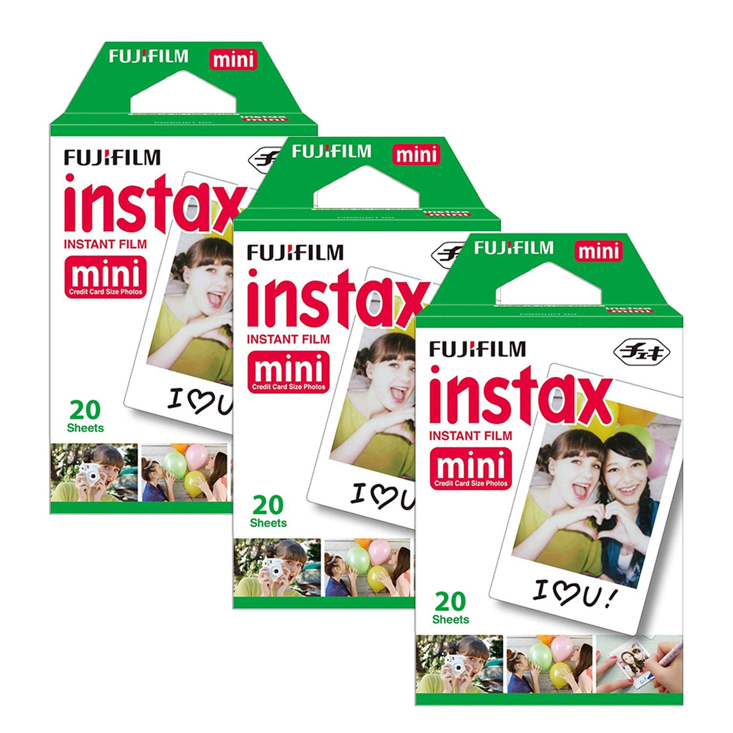 Fujifilm Instax Mini 9 (Yellow with Clear Accents), 3X Instax Film (60 Sheets), Groovy Case, Accordion Album and Hanging Pegs by Fujifilm (Image #6)