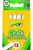 Crayola - 280 - Loisir Créatif - 12 Craies Blanches