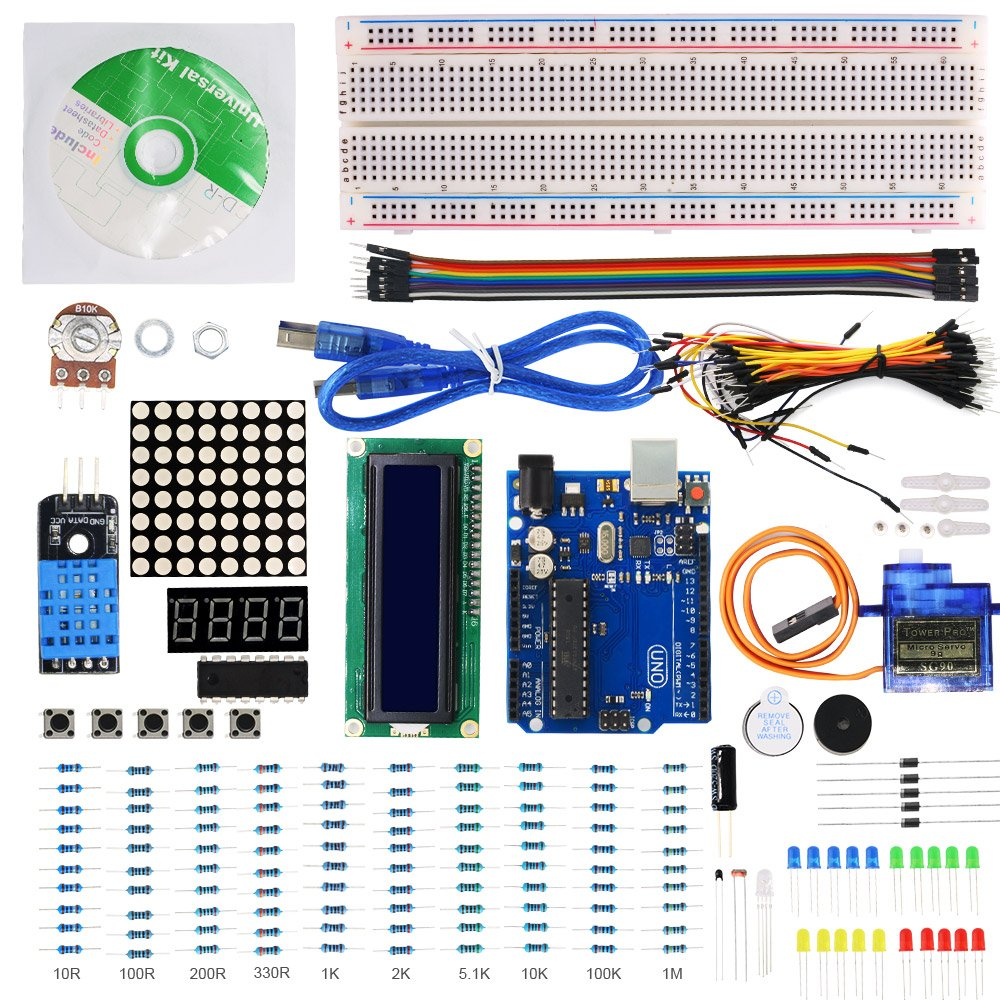 This is a great kit to start with. - Arduino