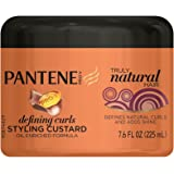 Pantene Pro-V Truly Natural Hair Defining Curls Styling Custard 7.6 Fl Oz by Pantene