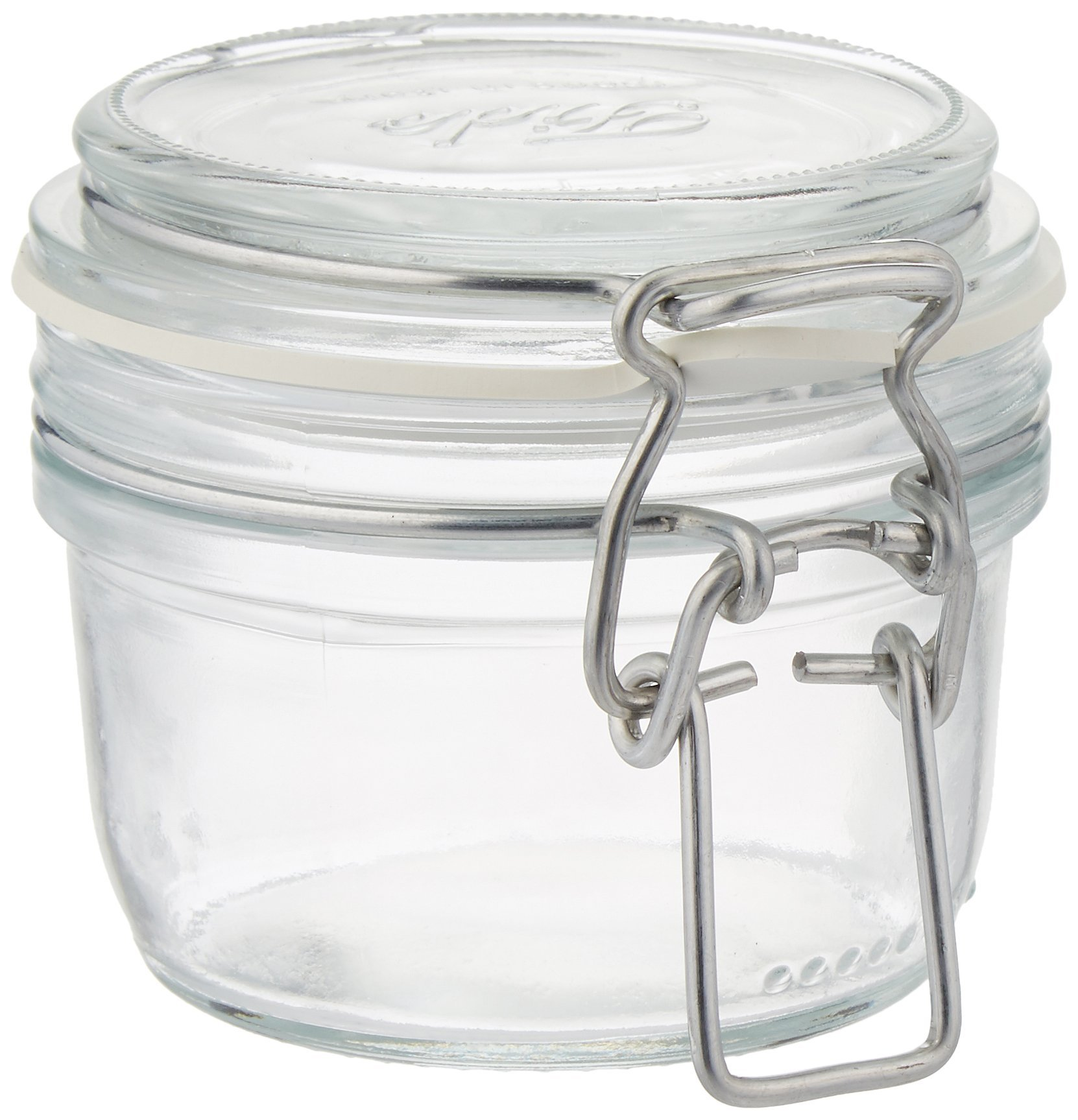Case of 12 Fido 125 ML (4 1/4 Ounce) Terrine Hermetic Canning Storage Jar