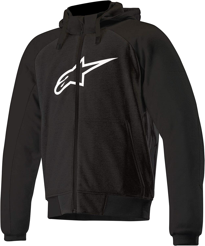 Herren Alpinestars Hoodie Sweatshirt Sweatjacke Kapuzenpullover Chrome Sport Hoodie Polyester Sportler Ganzj/ährig