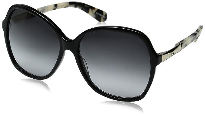 ec2858cb9a35 Kate Spade Women's Jolyn Square Sunglasses, BLACK GOLD/GRAY GRADIENT, ...