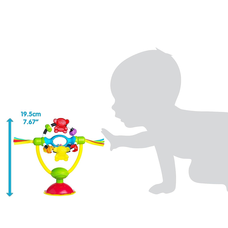 Mordedor sonajero Playgro 0183192 dise/ño Puzzle Click /& Twist