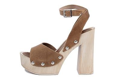 MARRADINI Damen - Sandale - Glattleder - 506_227_Boston_Cuoio