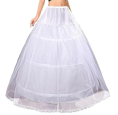 Happydress Jupons Crinoline 3 Cerceau 1 Couche Robe de Mariage Jupon mariée  Jupon Robe de mariée Jupons Femme Jupes Wedding Petticoat Robe Bal Jupon  Femme ... 840aeca700d5