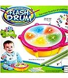 Skywalk Flash Musical Drum (Multicolour)