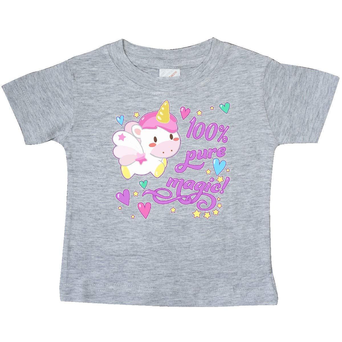 Cute Unicorn Baby T-Shirt inktastic 100 Percent Pure Magic
