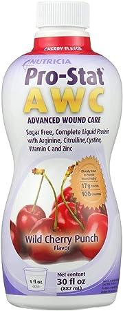 Pro-Stat® Sugar Free AWC Wild Cherry Punch Protein Supplement, 30 oz. Bottle