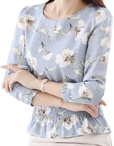 erdbeerloft - Camisas - Floral - manga 3/4 - 100 DEN - para mujer