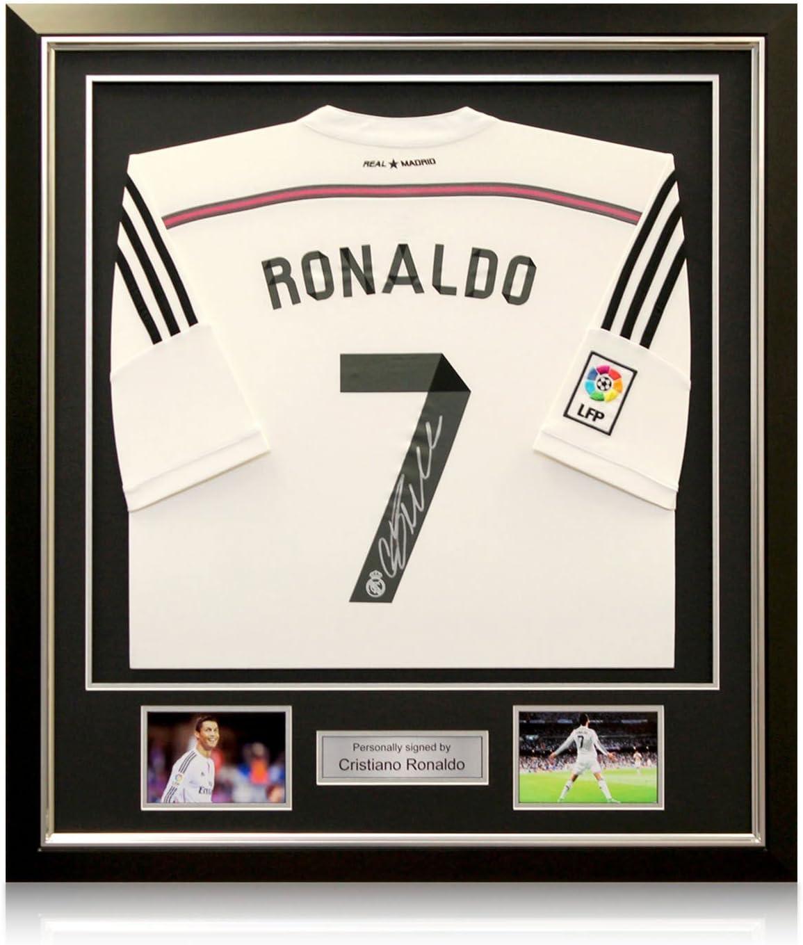 Firmada por Cristiano Ronaldo 2014-15 Real Madrid camiseta de ...
