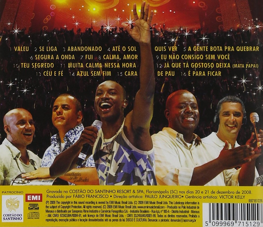 cd audio dvd exaltasamba 2010