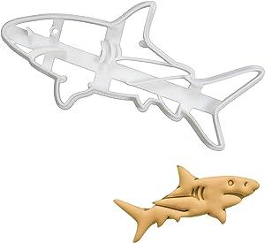 Great White Shark cookie cutter, 1 piece - Bakerlogy