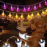 GIGALUMI Halloween Decoration Lights Halloween