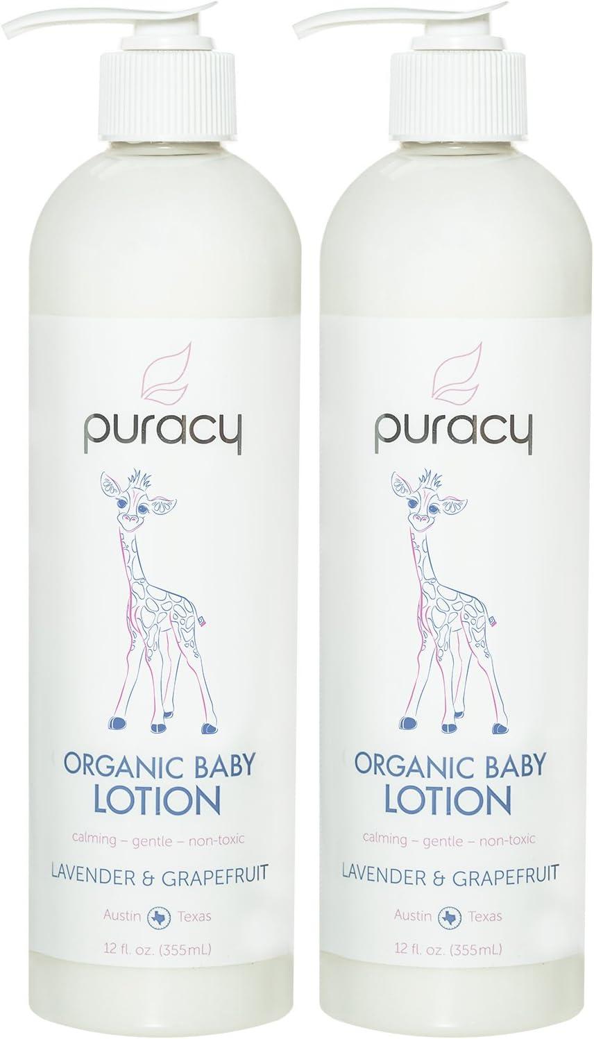 puracy-Best organic baby lotions
