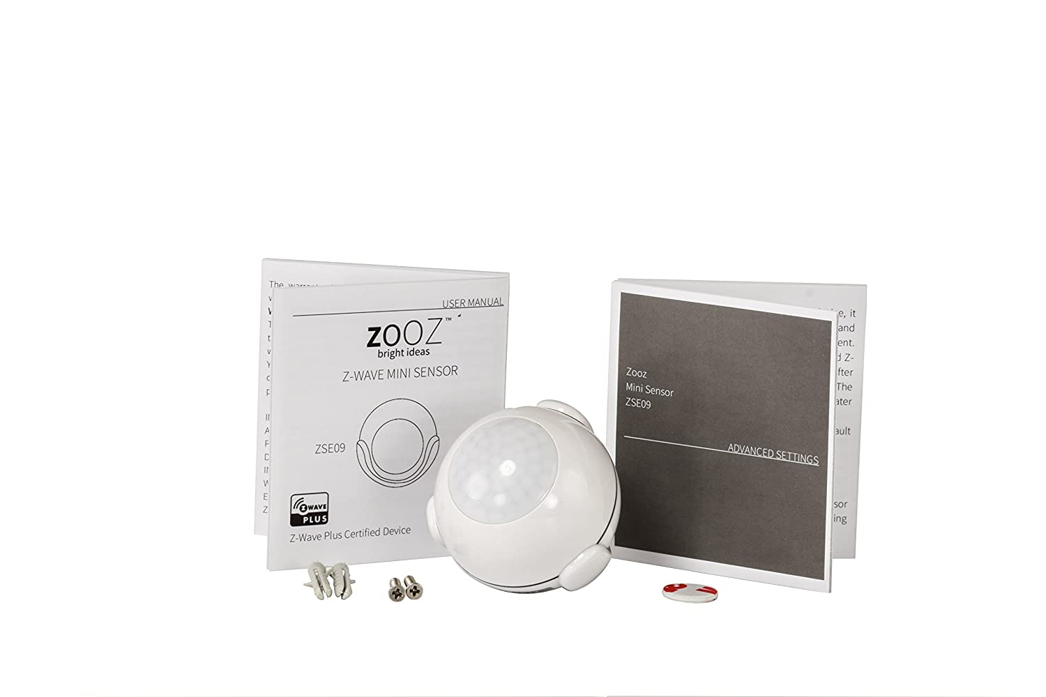 Amazon.com : Zooz Z-Wave Plus 2-in-1 Motion and Light Mini Sensor ZSE09, Cert. #ZC10-16085198 : Camera & Photo