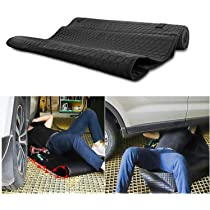 150cm*70cm Oulian Automotive Car Creeper Folding Moving Pad Rolling Car Repair Pad Zero Crawling Mat Zero Ground Under The Vehicle Mat for Cars Working and Household