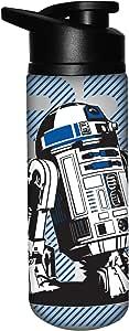 Silver Buffalo SW9589ST Star Wars R2D2 Stainless Steel Water Bottle, 25-Ounces