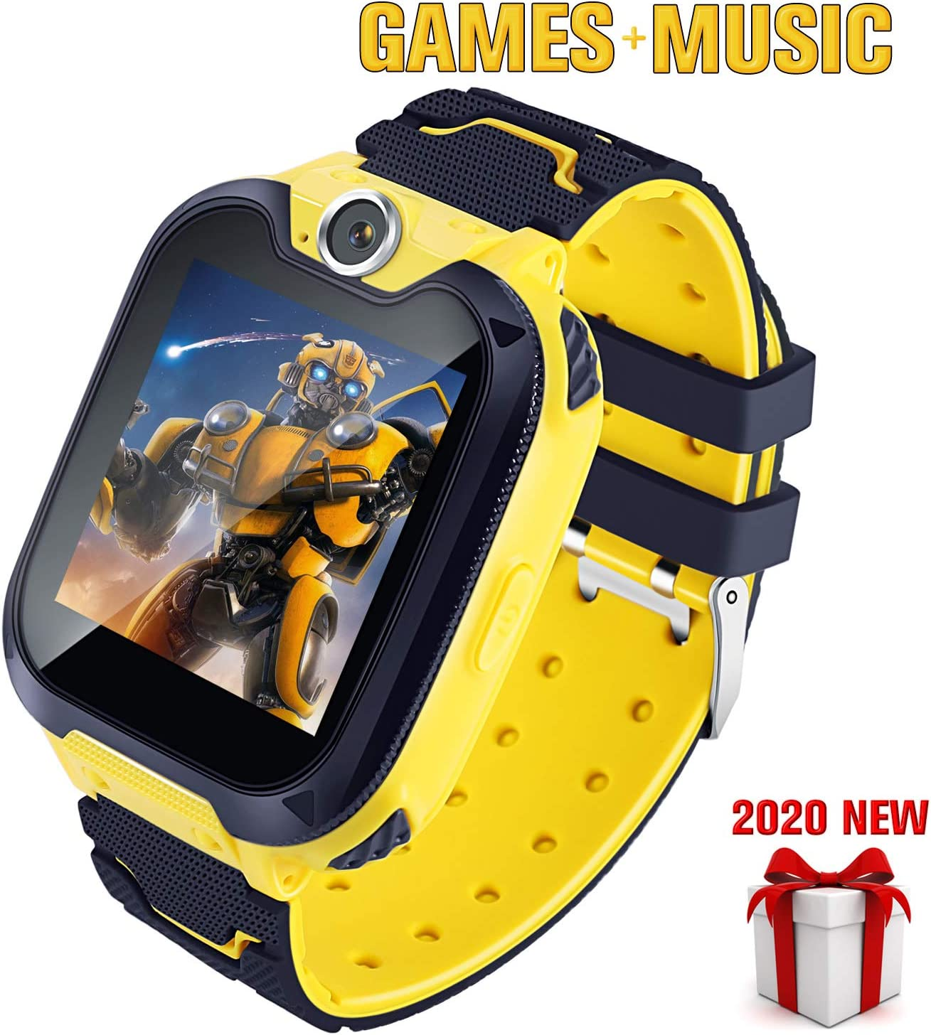 Smart Watch for Kids with 7 Puzzle Games Music Camera Two-Way Call SOS for 3-14 Years Girls Boys,1.54-inch Color Large Touch Screen for Children Birthday Gift with SD Card