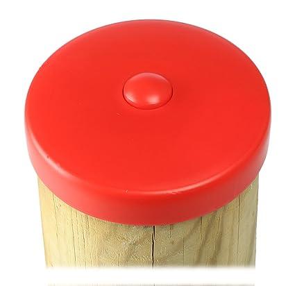 Tapa para poste, embellecedor de poste, vallas, plástico, 101 mm diámetro