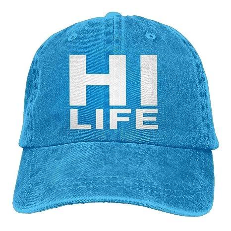 ruishandianqi Gorras béisbol Hi Life Polo Style Classic Baseball ...