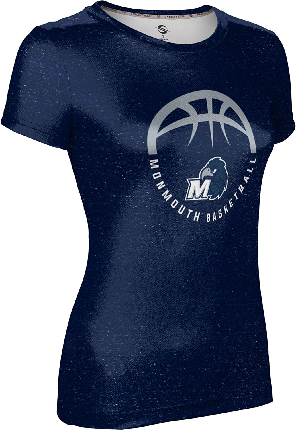 ProSphere Monmouth University Basketball Girls Performance T-Shirt Heather