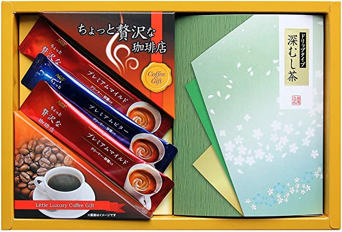 AGF / コーヒー・ドリップ緑茶( ADD-10 )