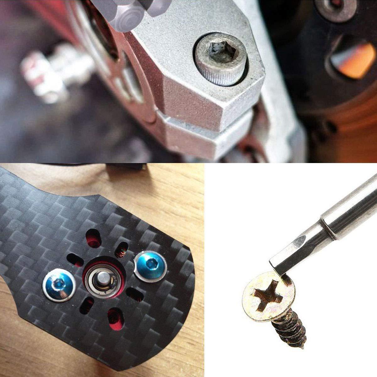 Amazon.com: Toolcool Broppe 10 piezas SAE 5/64-5/16 pulgadas ...