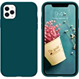 """DUEDUE iPhone 11 Pro Case 5.8"""",Liquid Silicone Soft Gel Rubber Slim Cover with Microfiber Cloth Lining Cushion Shockproof Ful"""