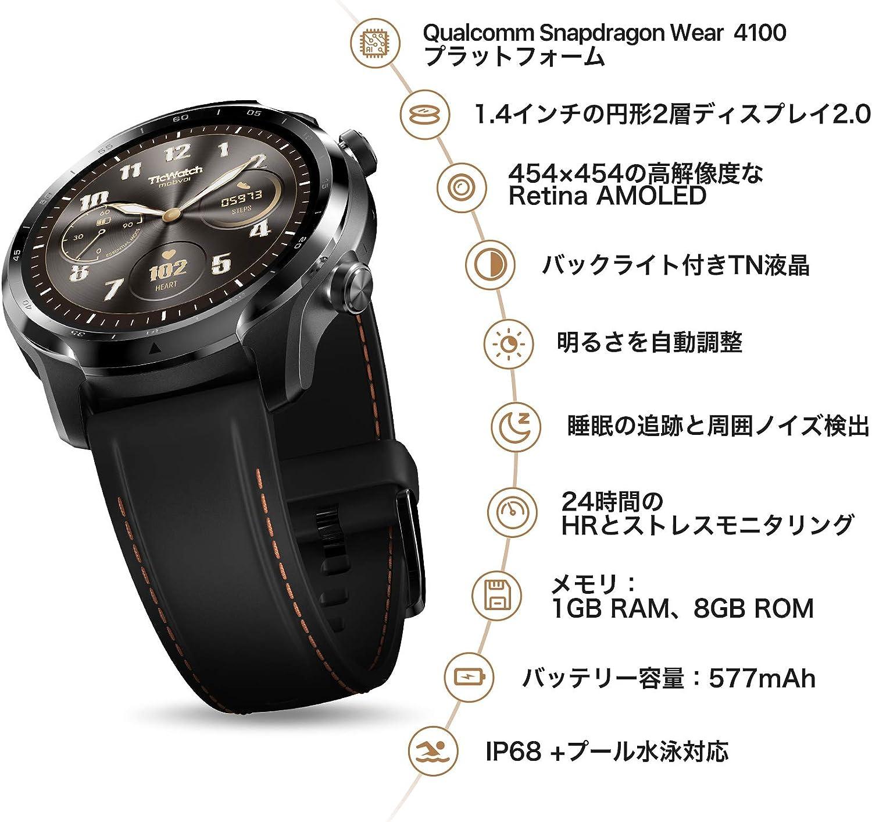 Androidユーザーにおすすめのスマートウォッチticwatch