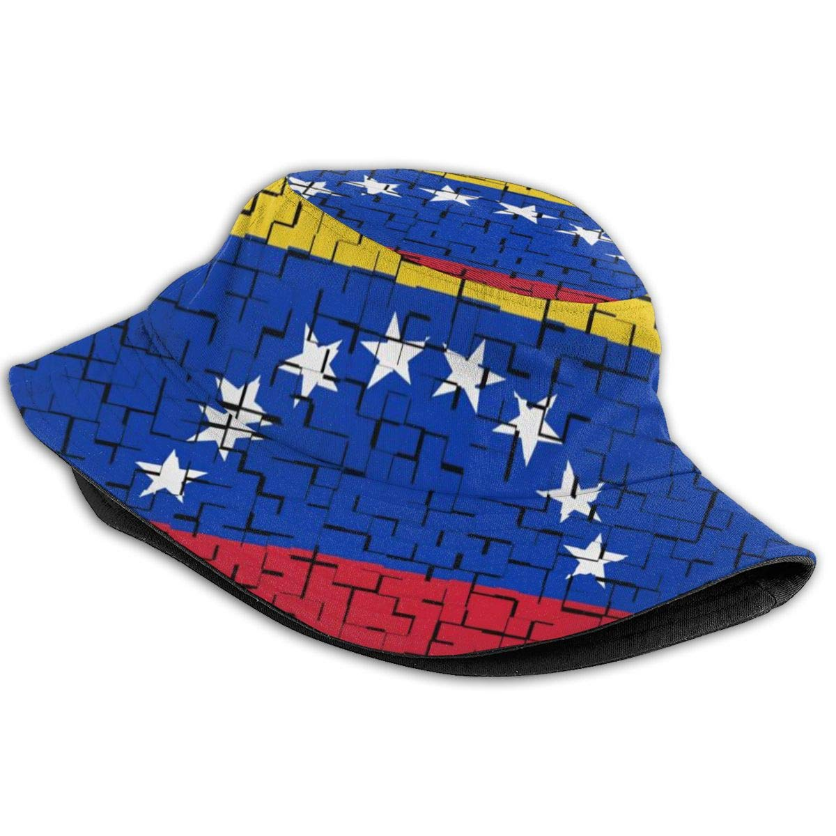Low Profile Mesh Back Trucker Hat for Unisex Ry71@Cap Boys and Girls 100/% Polyester Venezuela Flag Puzzle Mesh Hat