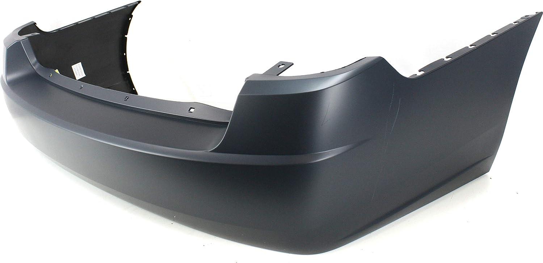 Rear Bumper Cover Compatible with CHEVROLET MALIBU 2004-2008 Primed Base//LS//LT//LTZ Models