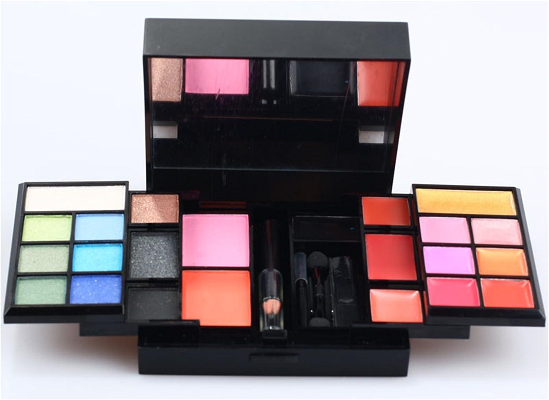 FantasyDay® 74 Colores Sombra De Ojos Paleta de Maquillaje Cosmética con Corrector y Rubor y Sombra De Ojos - Perfecto para Sso Profesional y Diario