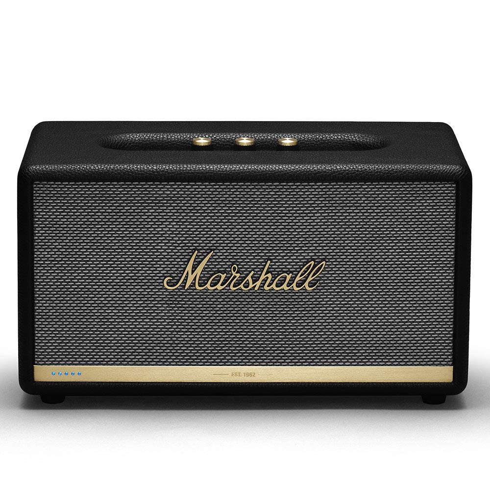 Marshall Stanmore II Wireless Wi-Fi Smart Speaker with Amazon Alexa Voice Control Built-in Black, New