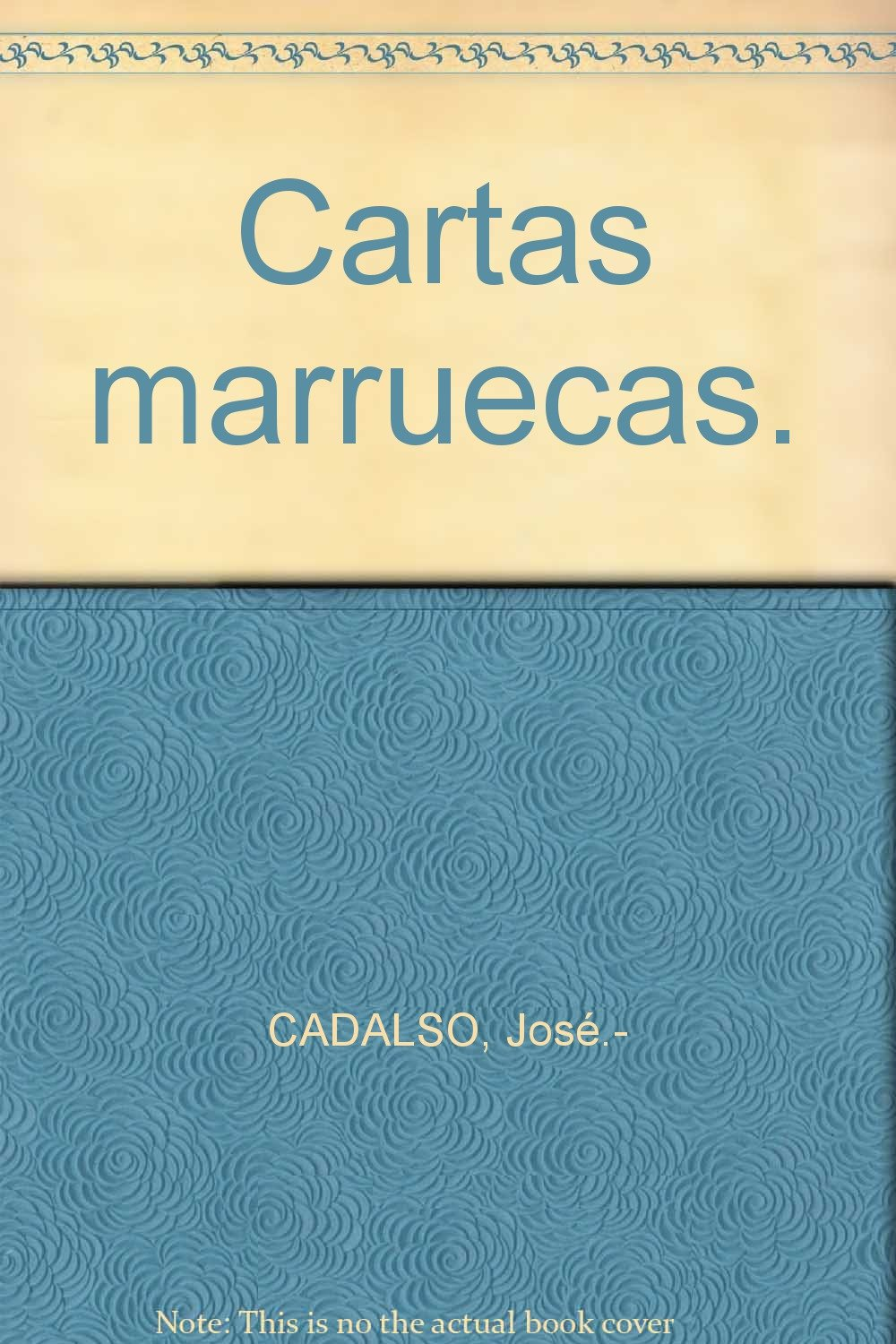 Cartas marruecas.: Amazon.com: Books