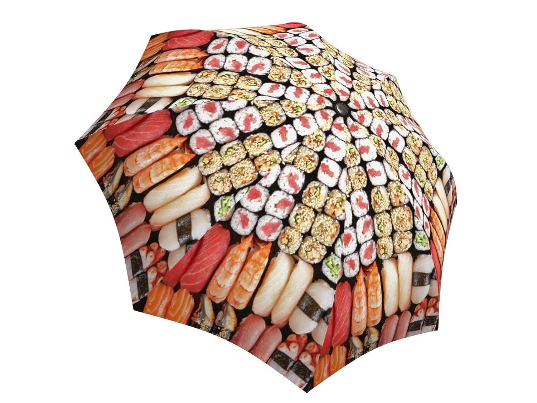 216851bfb0c7 Amazon.com: LA BELLA UMBRELLA Sushi Designer Unique Art Travel ...