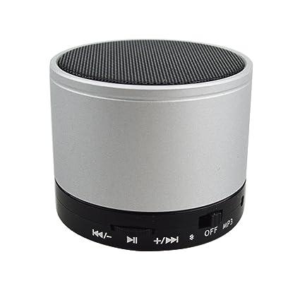 Amazon.com: Mini Bocina con Bluetooth y Sonido Estereo para ...