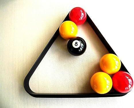 Triángulo para 15 Pelotas de Billar de tamaño estándar, 50,8 mm ...