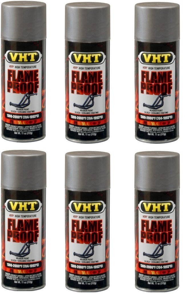VHT SP998 FlameProof Coating Cast Iron Paint Can - 11 oz. by VHT (6)