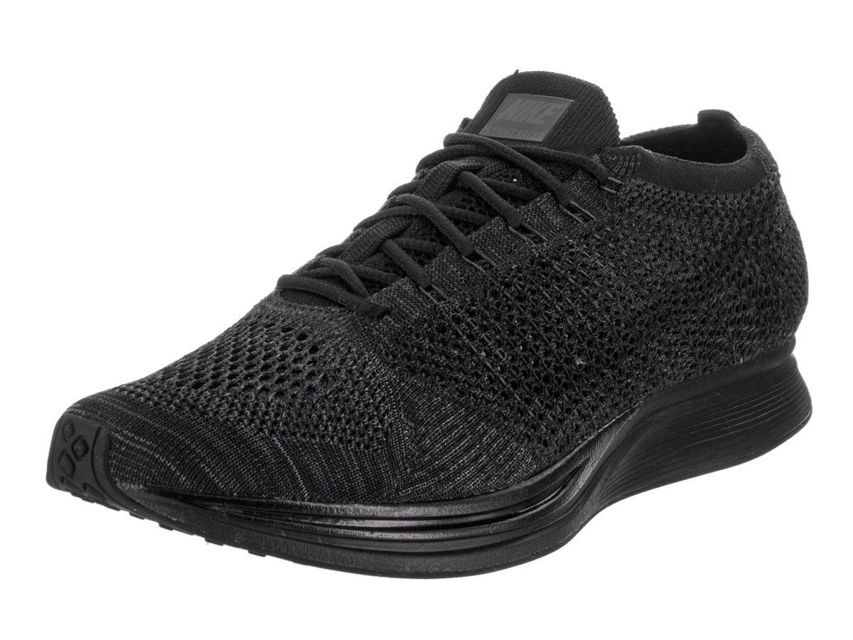 NIKE Unisex Flyknit Racer Running Shoe B01N9OAQ6V 5 D(M) US|BLACK/BLACK-ANTHRACITE