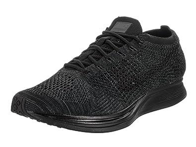 NIKE Unisex Flyknit Racer Black/Black Anthracite Running Shoe 6 Men US/7.5  Women